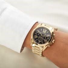 Mens unworn Michael Kors Couture NY chronograph luxury watch.