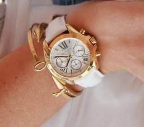 Ladies new Michael Kors NY Couture 'Bradshaw' very classy watch.