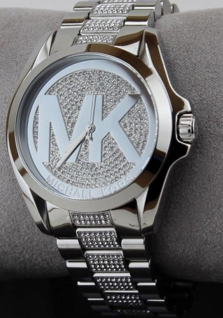New Michael Kors Couture NY Bradshaw' signature MK watch.