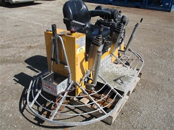 2007 Barikell 3378 Twin Trowelling Machine