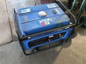 Kipor Generator, model KGE 6500X, 9 hour