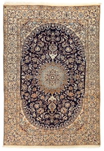 Persian Nain Hand Knotted Pure Wool Pile