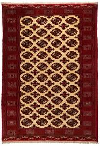 Persian Torkoman Hand Knotted Wool Pile