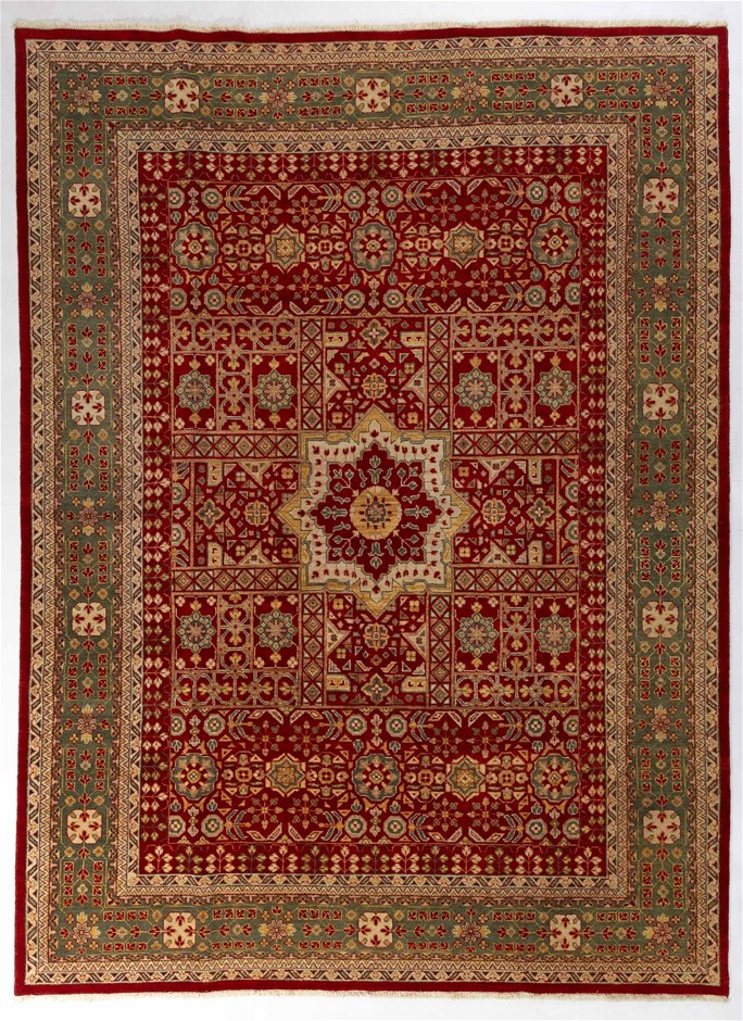 Afghan Choobi Hand Knotted Vegetable Dyed Rug Size (cm): 271 x 365