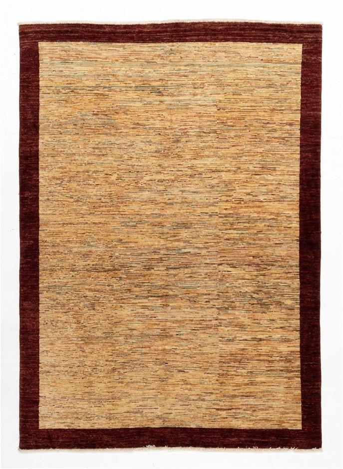Afghan Gabbeh Stripy Modern Design Rug Size (cm): 160 x 230