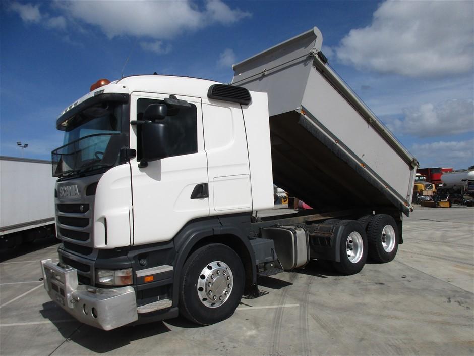 2010 Scania R480 Tipper Truck