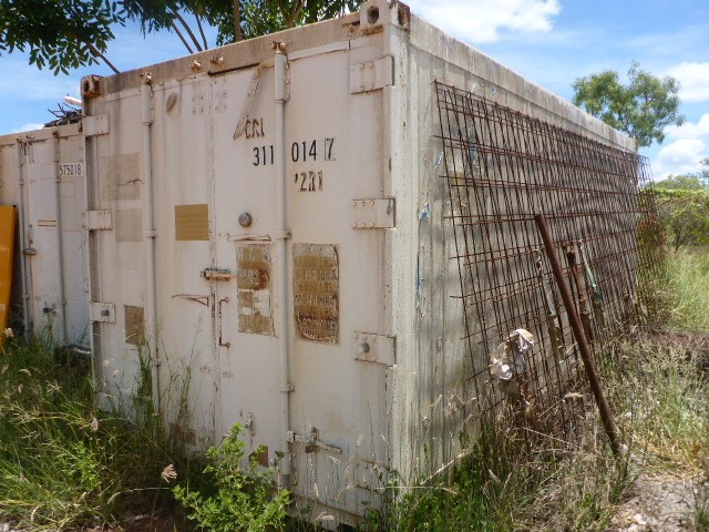1995 Hyundai 20' Refrigerated Shipping Container (Ngukurr, NT)