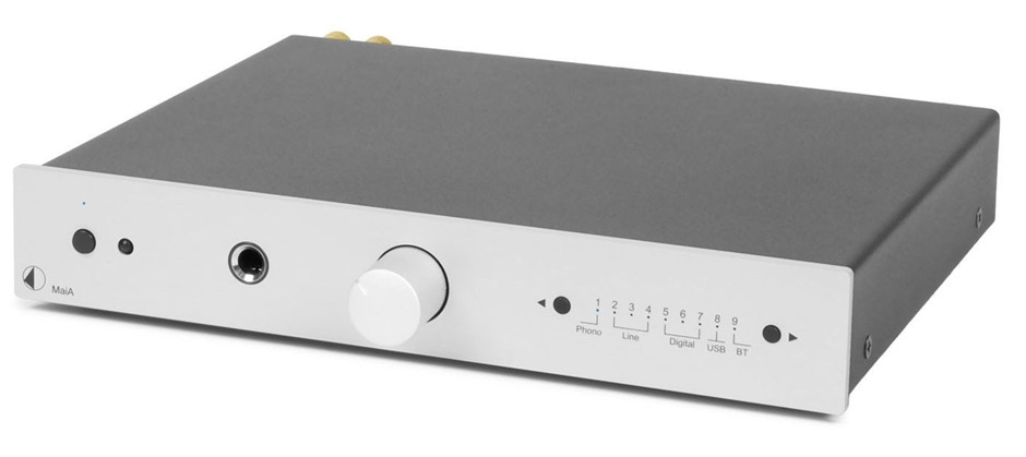 Pro-Ject MaiA Preamplifier with Bluetooth (Silver) (NEW)