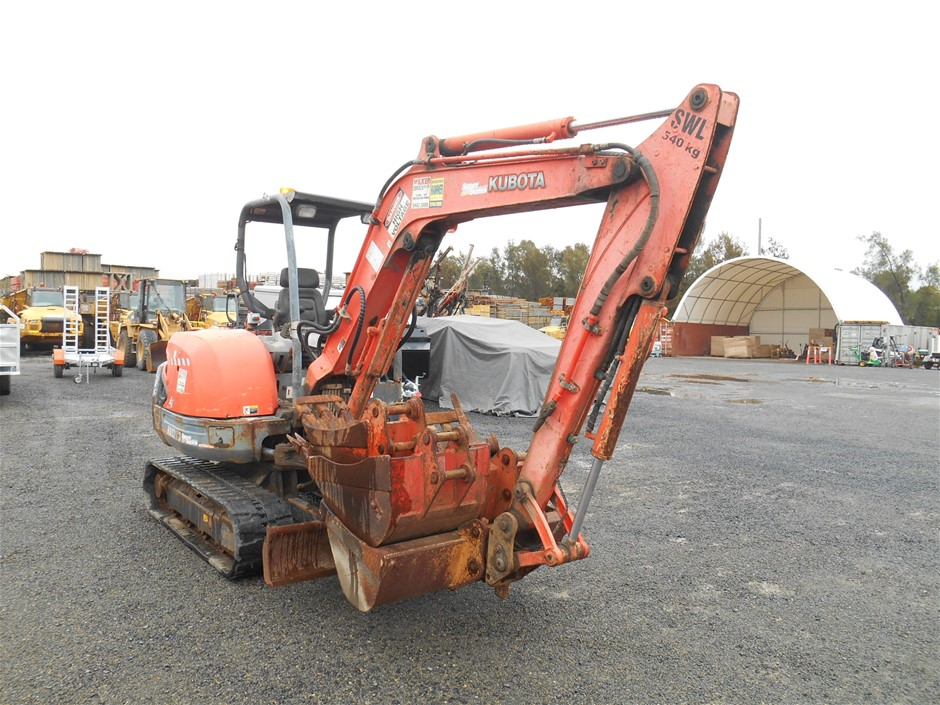 Kubota KX 121-3 Super Series Mini Excavator