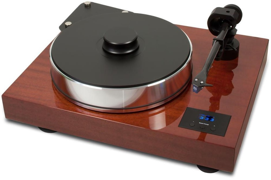 Pro-Ject Xtension 10 Evo Turntable Quintet Bronze Cartridge (Mahogany)
