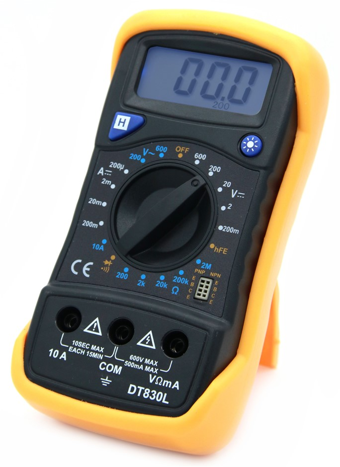 DT830L LCD Electricians Digital Multimeter