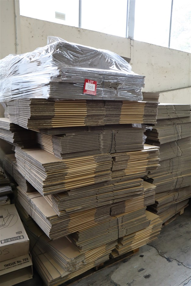Assorted Packaging Cardboard to 5 Pallets