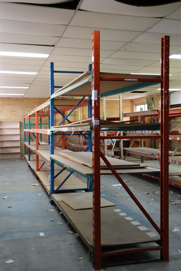 4 x Bays Mixed Unbranded Pallet Racking