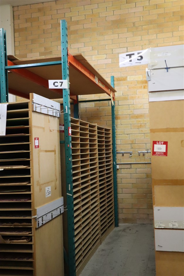 Single Bay Colby Pallet Racking