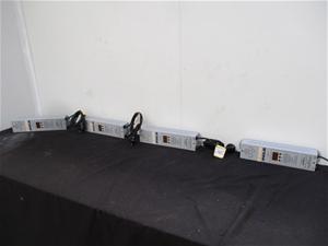 Qty 4 x Anolis Arc Power 36 LED Lighting