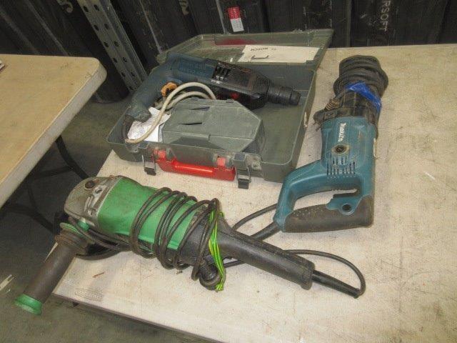 3 x 240V Electric Power Tools