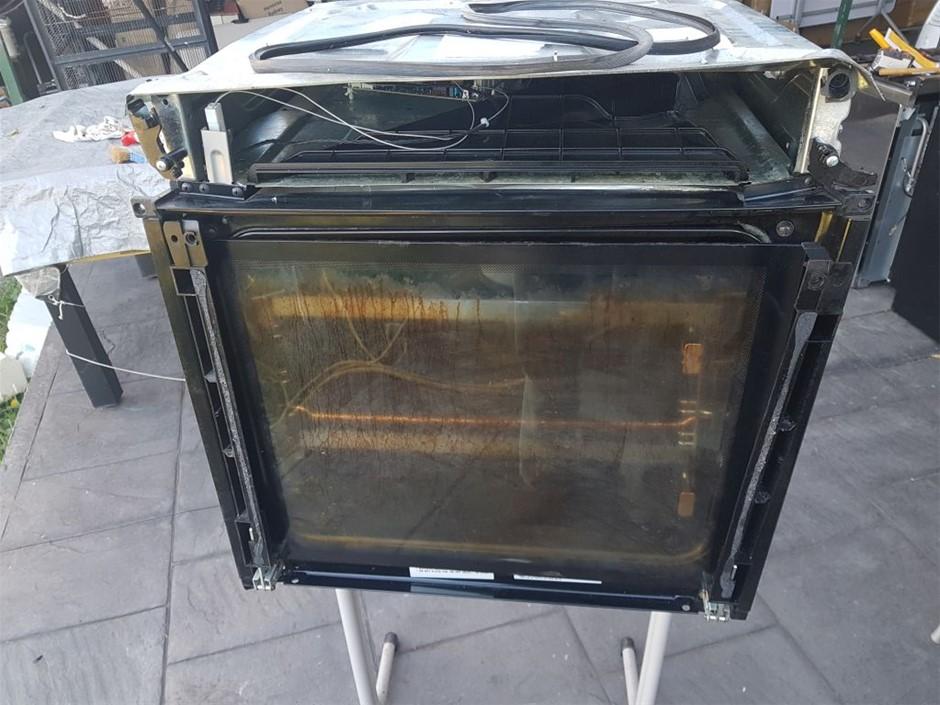 Electrolux EVE616SC, Oven 60cm, broken glas