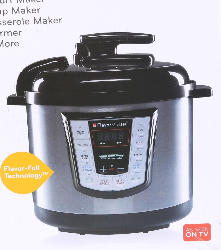 DANOZ Flavour Master 10 in 1 Multi-Function Cooker. N.B. Has been used once