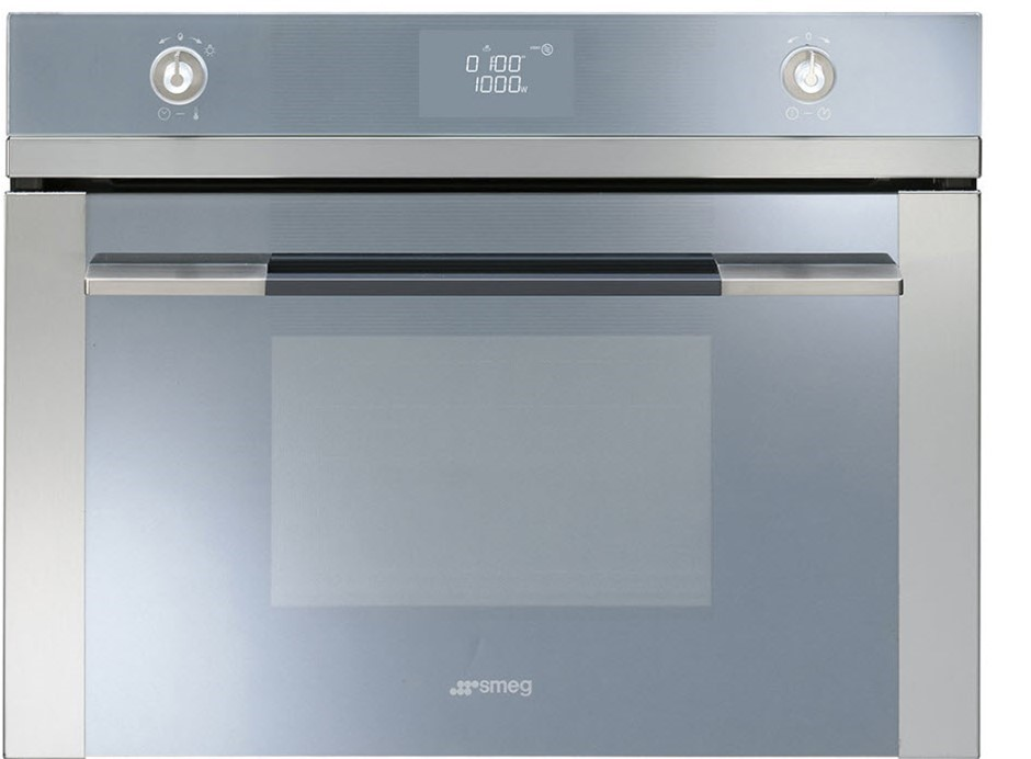 Smeg 60cm Linear Compact Microwave Oven (SFA4125M)