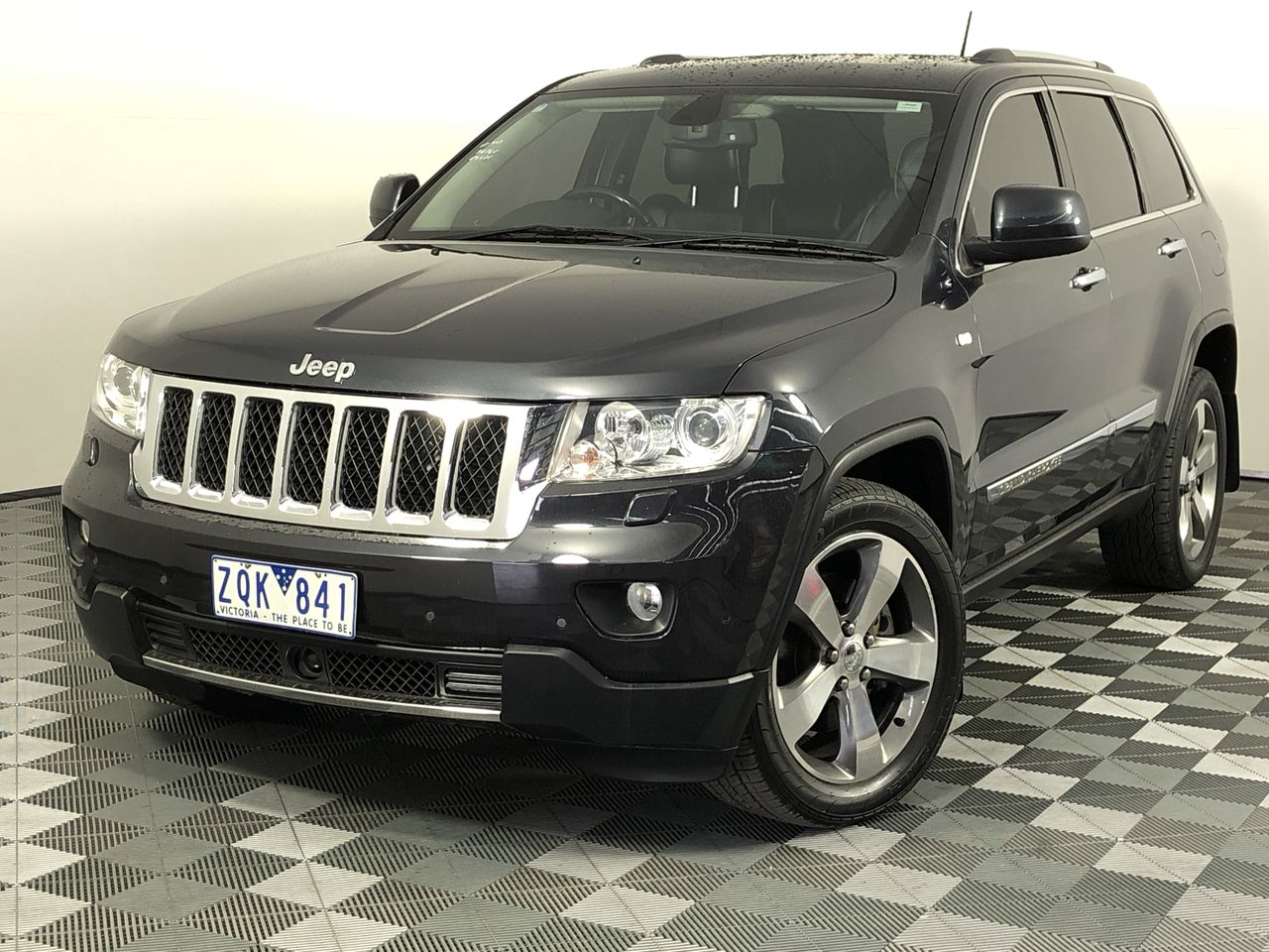 2012 Jeep Grand Cherokee Overland (4x4) WK (RWC Issued 18/09/19)