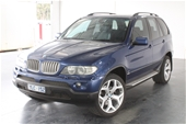 Unreserved 2005 BMW X5 4.4i E53 Automatic Wagon