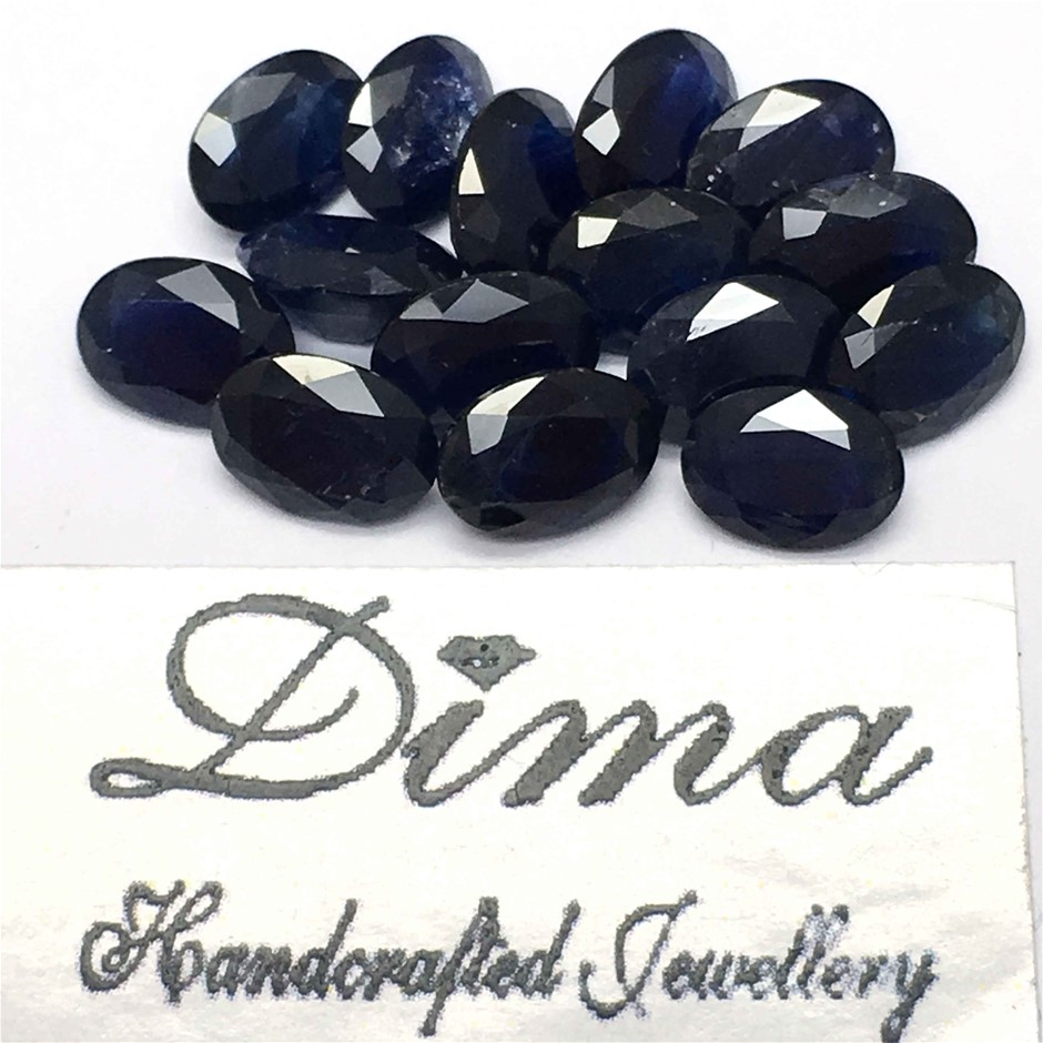 Fifteen Loose Blue Sapphire 12.75ct in Total
