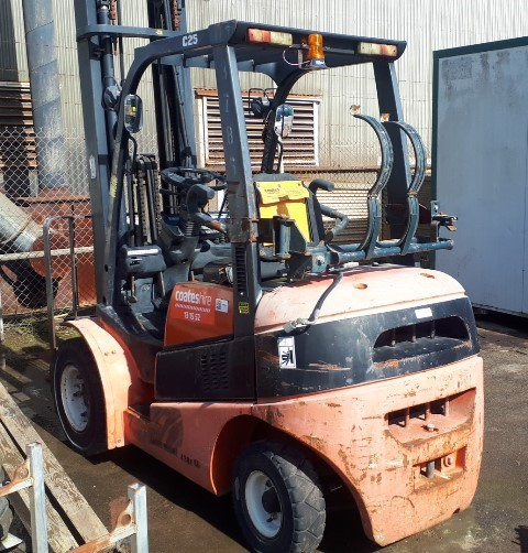 2005 Clark C25L Counterbalance Forklift