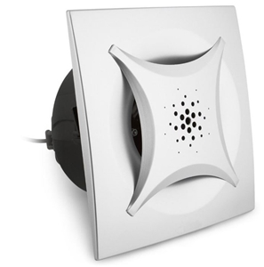 Heller Silver Square Ceiling Ducted Exha