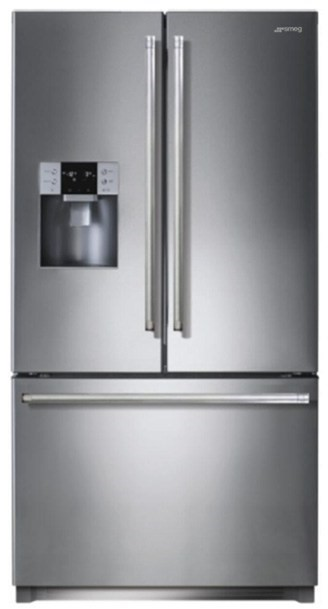 Smeg 762 Litre French Door Refrigerator - Model SF640S-1