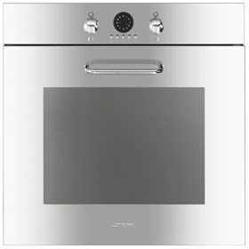 Smeg 60cm Stainless Steel Oven. Model: SF170X