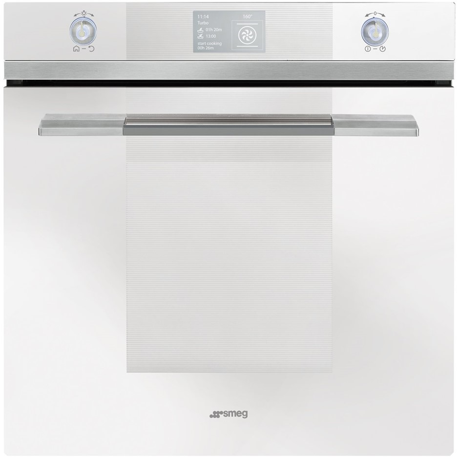 Smeg 60cm Linear Aesthetic Pyrolytic Built-In Oven - Model SFPA6130B