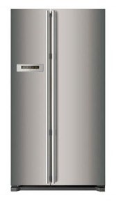 Smeg 622L Refrigerator/Freezer, Stainless Steel Side-by-Side Model - SR600X