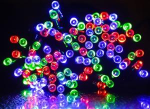 100 LED solar fairy light RGB