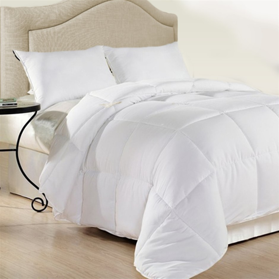 Royal Comfort Duck Feather & Down Quilt Single 95% Feather 5% Down 500GSM