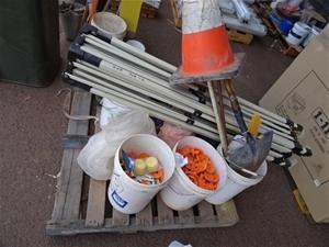 A Quantity of Assorted Construction Item