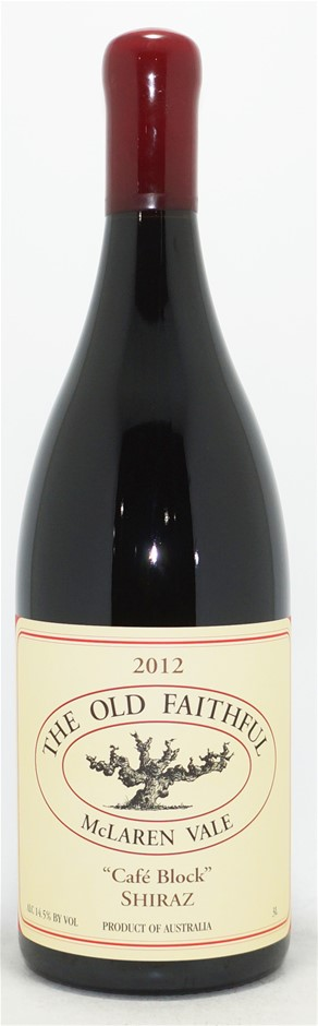 The Old Faithful Cafe Block Shiraz 2012 Double Magnum (1x 3L)
