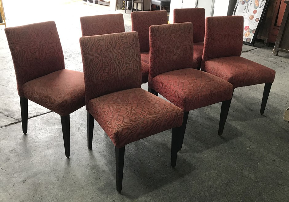 Qty 7 x Restaurant/ dining chairs