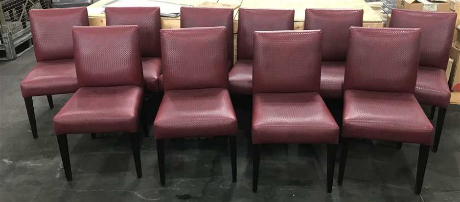 Qty 10 x Restaurant/ dining chairs