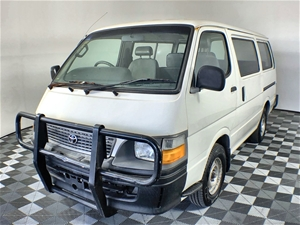 2001 Toyota Hiace Commuter LWB Auto 11 S
