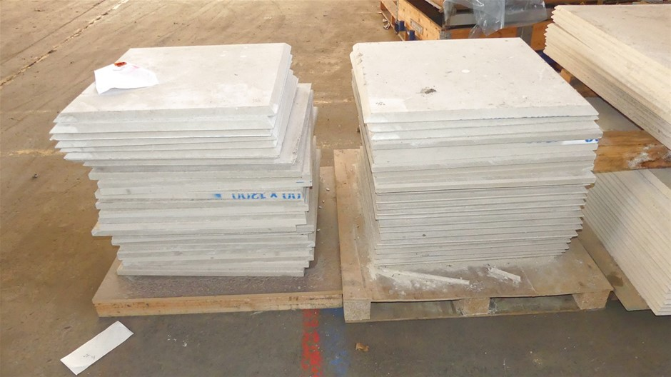 Qty 2 x Stacks (approx. x 50 x Sheets) Compressed Concrete Sheeting