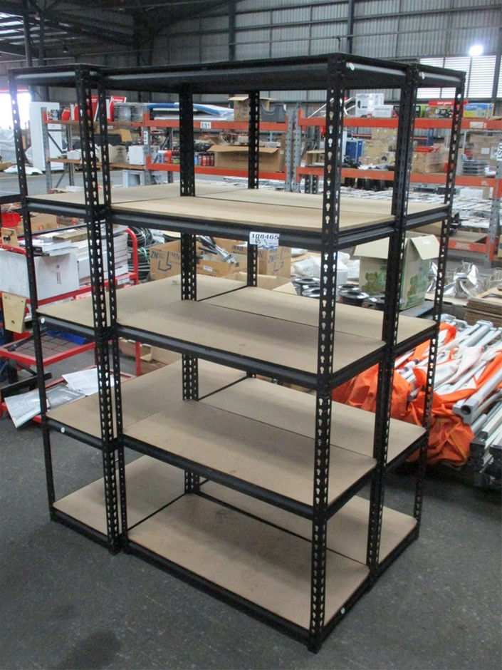 Qty 3 x Shelving Racks