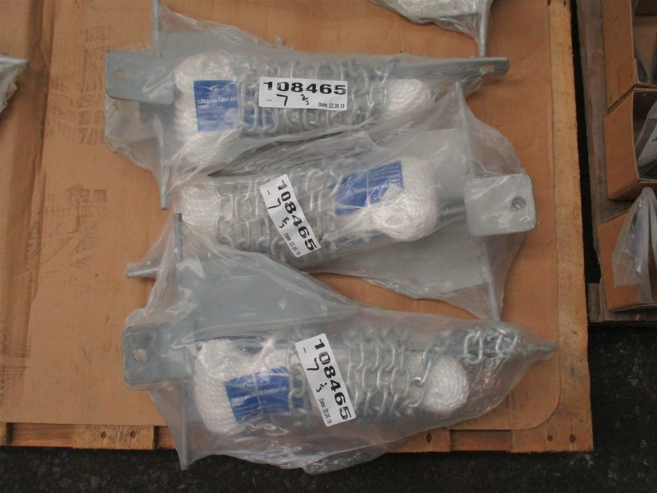 Qty 3 x BLA Sand Anchor Kits