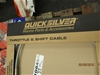 Qty 10 x Quicksilver Throttle and Shift Cables