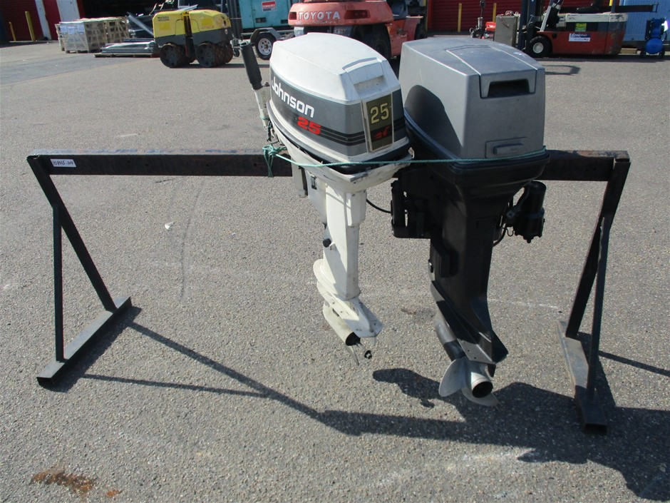 Qty 2 x Parts Only Outboard Motors