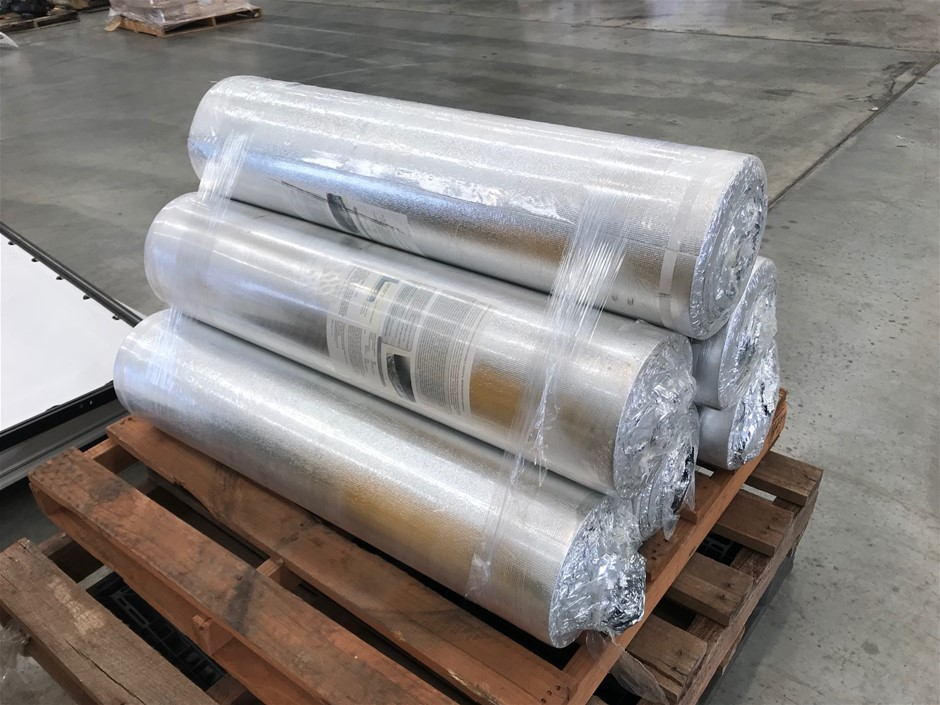 90 Square Metres of Acoustic Underlay/Moisture Barrier