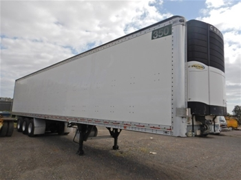 Unreserved 2005 Peki Transport 30.D Refrigerated Triaxle Trailer