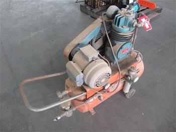 Binks Bullows KA-300 Air Compressor