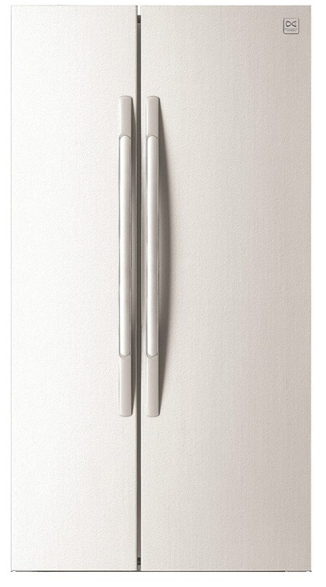 Daewoo FRS-U20ICW 618L Side by Side Fridge Gloss White