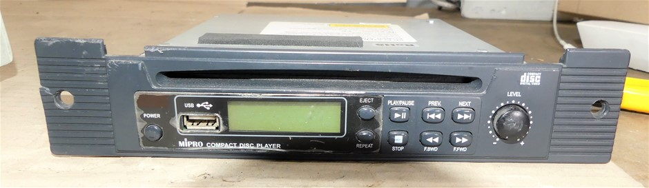 Mipro rackmount disc player
