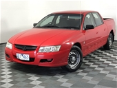 Unreserved 2005 Holden Crewman VZ Automatic